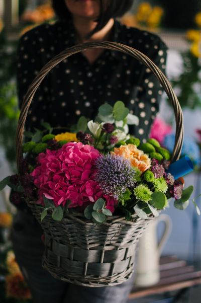 Aranjament Floral Hortensie A9
