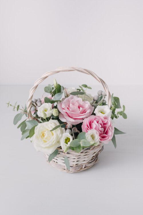Aranjament Floral Pastelat Mic