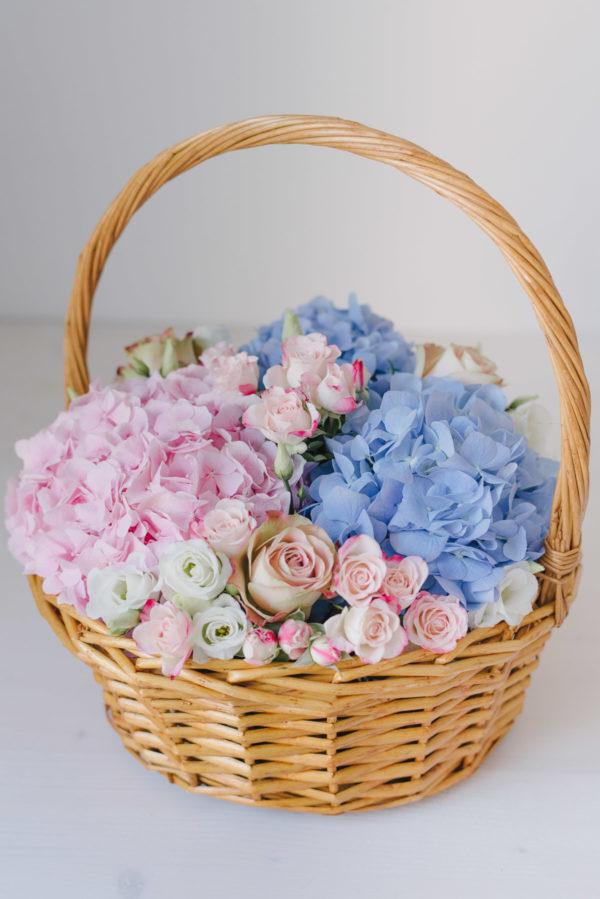 Cos Mare Cu Flori