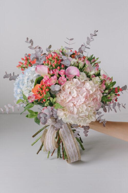 Buchet Mare Din Flori Colorate