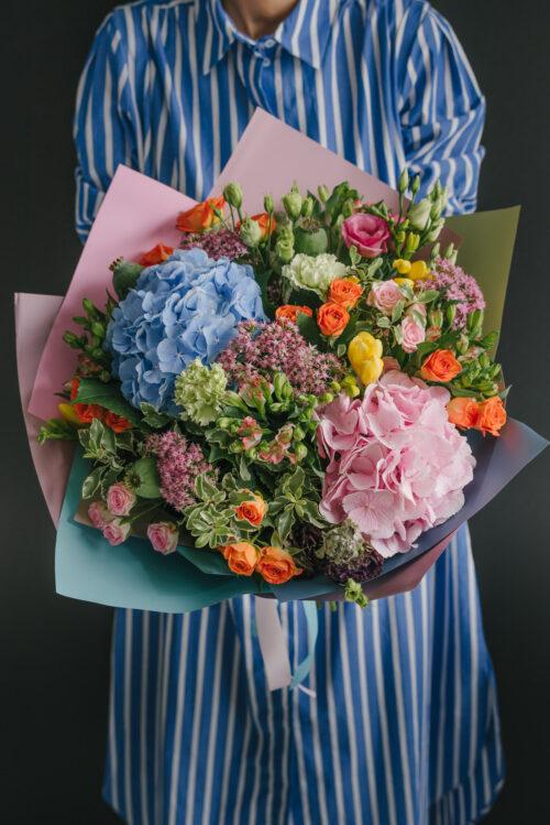 Buchet De Flori Shade Of Blue
