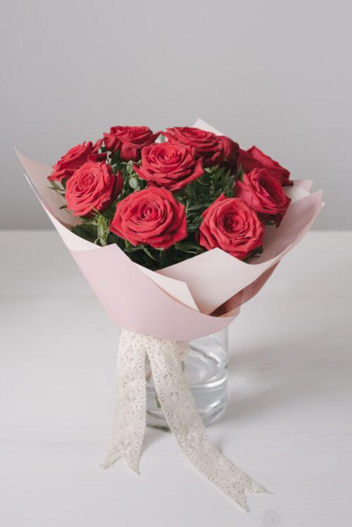 Buchet 11 Trandafiri Rosii